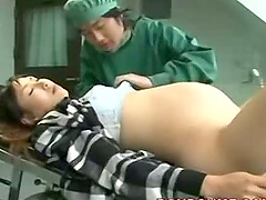 Pregnant Asian Girl Creampied By Her Doctor