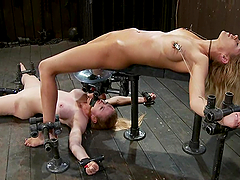 Darling and Rain DeGrey get humiliated in BDSM video
