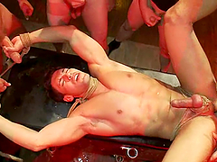 Tyler Saint, Alexander Garrett And Gay Freaks Go Hardcore