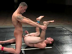 Muscular Spencer Reed And Ty Tucker Go Extremely Hardcore After Wrestling