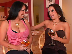 Incredible Sophia Lomeli And Her GF Go Wild In A FFM