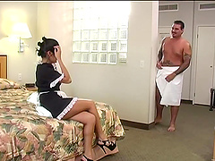 Think, asian girl latina maid