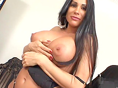 Sheila Marie lets a dude fuck her bumhole deep and feel it with cum