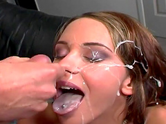The best ever compilation of hardcore facial cumshots scenes