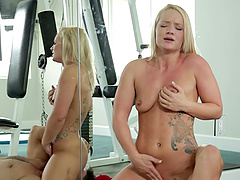 Cali Carter Rides Like A Horny Cowgirl On Top Of Ramon Nomar