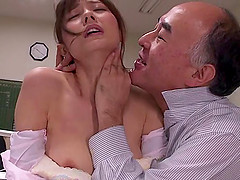 Hubby must watch as a group of men fuck his Japanese submissive wife