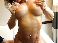 Stimulating babe and her great experience in the good old penetration