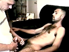 Amateur Str8 Boy Enrique Tugs On Vinnie