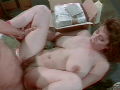 Retro chick with big tits is shagged like never before in her career