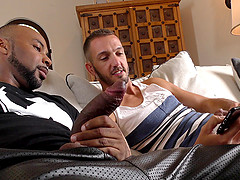 Horny boys have fun while fucking like never before