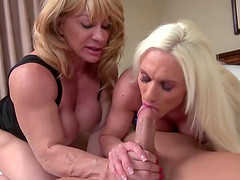 Ashley and Kat love riding dicks and are always ready to do it