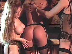 Brilliant lesbian experience with insatiable Asia Carrera