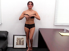 Fucked hard on a desk and filmed is how Michelle likes it