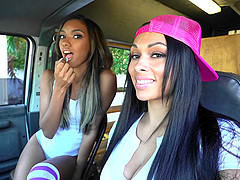Raven Wylde and Bethany Benz are in need of their friend's dick
