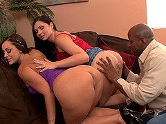Angel Summers and Liza Del Sierra are curious about a black dick