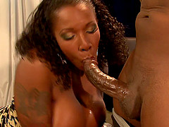Fine ass ebony penetrated hardcore with big black cock
