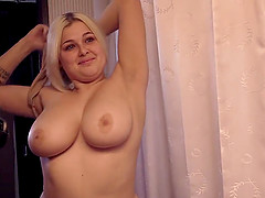 Morgan is a chubby blonde who will do anything for a dick