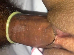 Fucking an Indian wife from internet in a hotel room