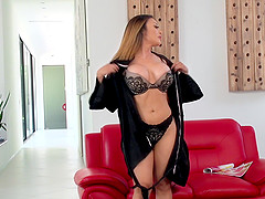 Steamy massage and nice pussy drilling with Kaylani Lei