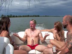 Luscious Gay Guys Fucking On Yacht