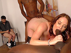 One black cock is not enough to satisfy Maggie Green anymore