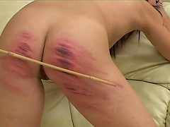 Hitting a friend with a stick makes this mistress happier than anything