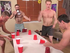 Gay dude lost a game so he has to fuck all of his roommates