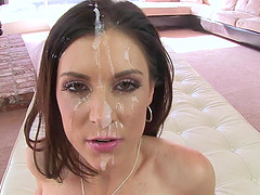 Sucking a stiff dick is what India Summer likes the most