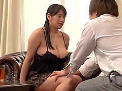 Japanese babe Haruna Hana fingers her cunt in front of her friend