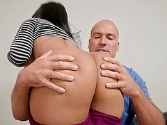Stunning example of cfnm blowjob - 2 part 3
