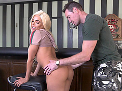 Luna Star needs to moan loudly while she gets fucked in different poses