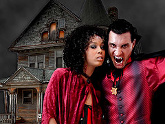 One on one interracial makes Misty Stone scream louder than before