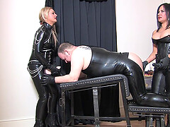 Threesome with Mistress Athena and her best friend is memorable experience