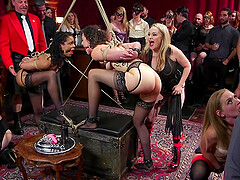 Aiden Starr and Lilith Luxe enjoy amazing sex experience with kinky friends