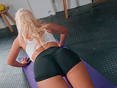 for Tommie Jo the best way to finish her sex adventure is a blowjob