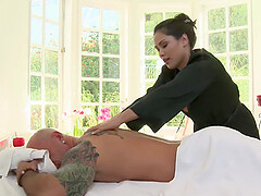 Jessica Bangkok is the horniest massage therapist and her clients love that