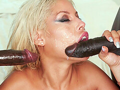 perfect blonde Bridgette B. is a real queen of an hard threesome