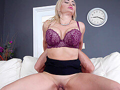 There is no limits for horny Claudia Valentine she likes sex in all poses