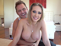 Sexy Madison Ivy can't wait to sit on a stranger's cock with her cunt