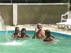 Hot orgy in Brazil