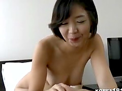 Hot Korean girl in towel