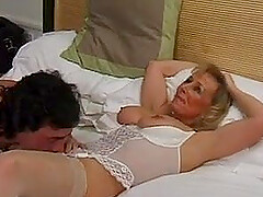 British mature nurse at hotel