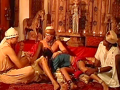 Busty Indian Babe Gets Gangbanged Kama Sutra Style