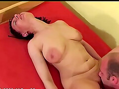 Sexy mature with big saggy tits