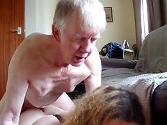 Grandpa fuck chubby shemale