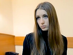 Casting of a modest Russian student Masha
