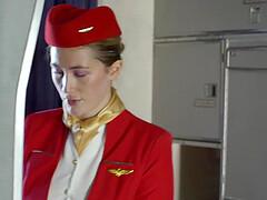 Passenger fuck the stewardess
