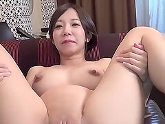 Cum into pregnant Japanese wife