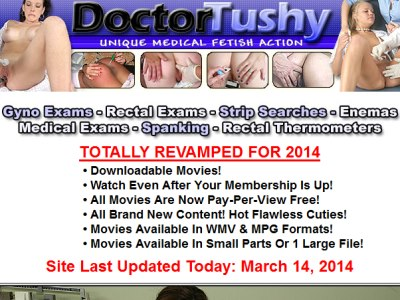 Too dr tushy anal exam film clips excellent message