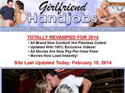 Girlfriend handjob tube